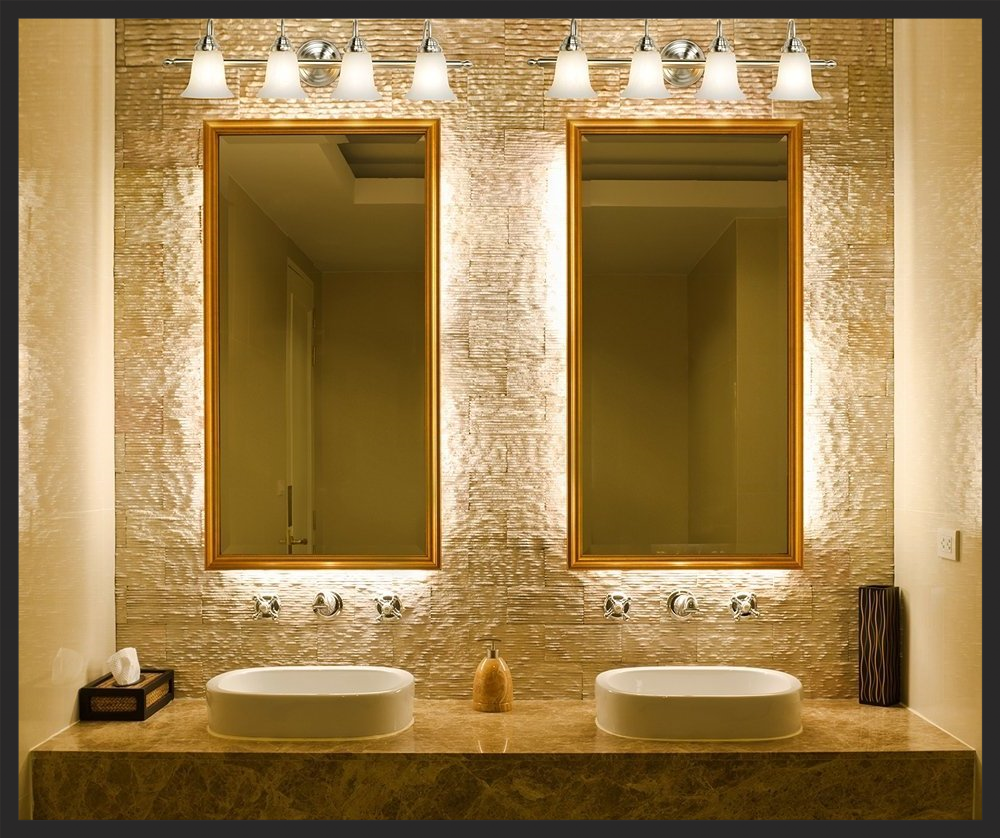 Bathroom Lighting Placement Lowcountry Lighting